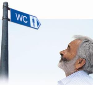 Инконтиненция чаще возникает у пожилых мужчин