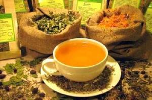 Лечебній чай при опущении почек