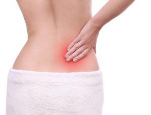 Локализация боли при кисте почки