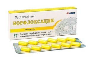 Норфлоксацин - антибактериальный препарат