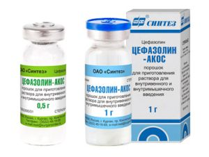 антибиотик цефазолин