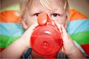 Клюква очень благоприятно действует на детский организм
