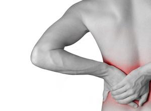 Локализация боли при нефрите