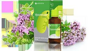 Уролесан - эффективный растительный препарат