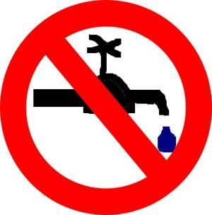 не пить много воды