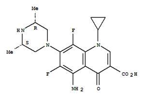 Вещество Sparfloxacinum