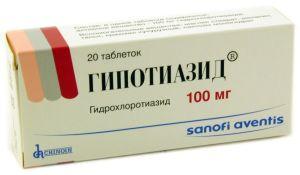 Дозировка гипотиазида