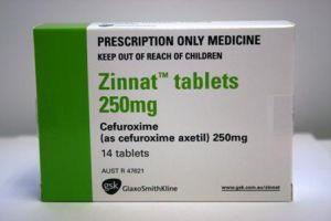 зиннат антибиотик