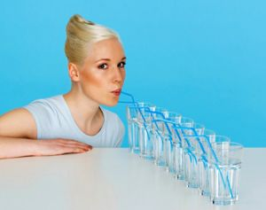 питье жидкости